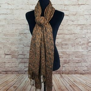 Accessories - PAISLEY Wrap/Scarf with Rhinestones